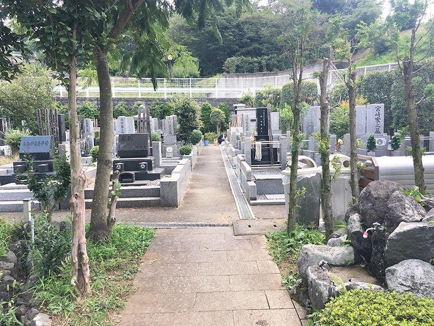 武蔵岡霊園15