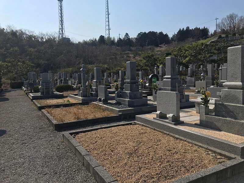 総社市営 新長砂墓地_10841
