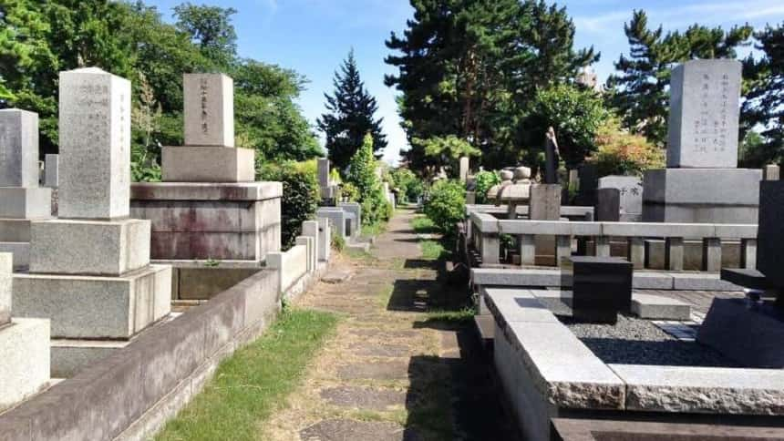 青山霊園の一般埋蔵施設