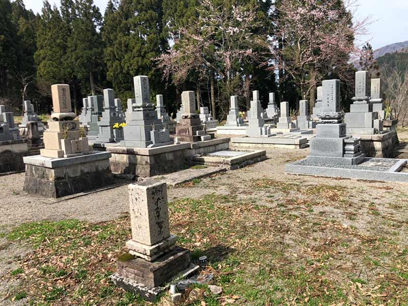 白山市営 桑島墓地公苑_13797