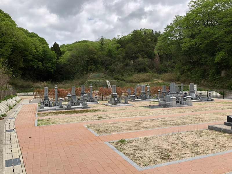 岡山市営 みつメモリアルパーク 墓域