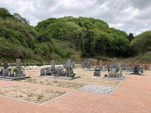 岡山市営 みつメモリアルパーク 墓地の全景