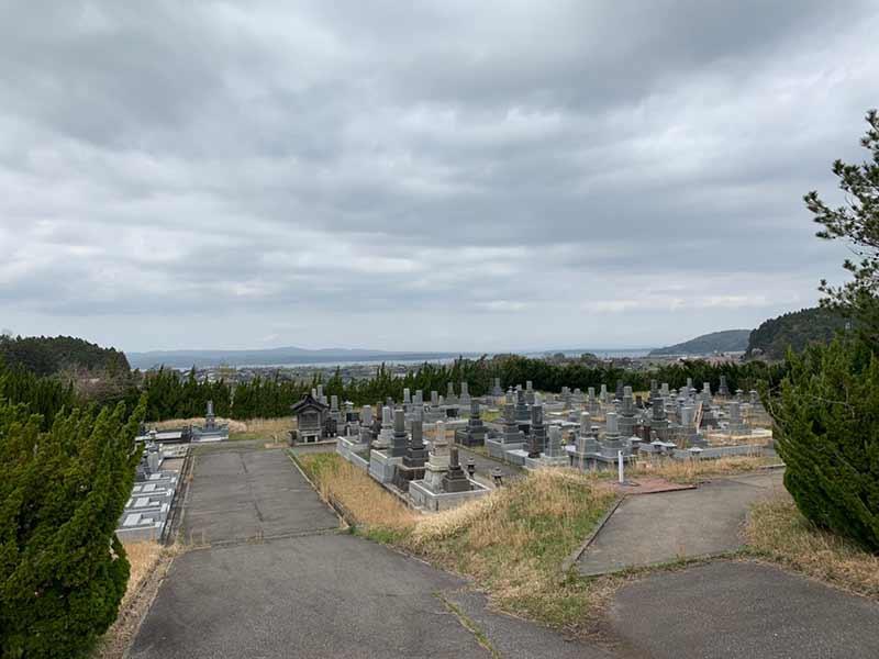 七尾市営 墓地公園_13934