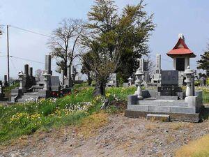 伊達市弄月墓地_14158