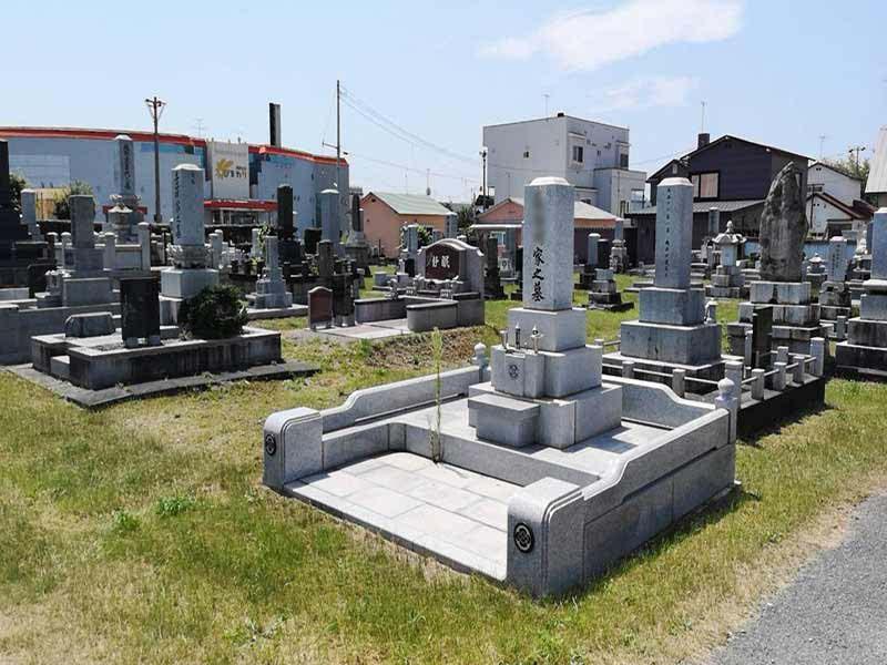 帯広市帯広墓地_14241