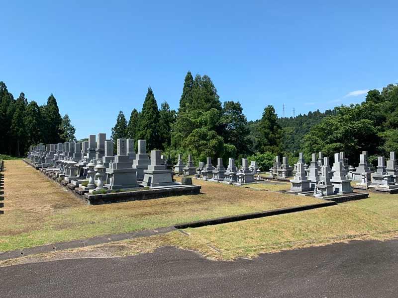 富山市営 大山墓地公園_14287