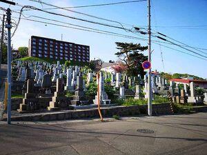 小樽市営 桜墓地_14302