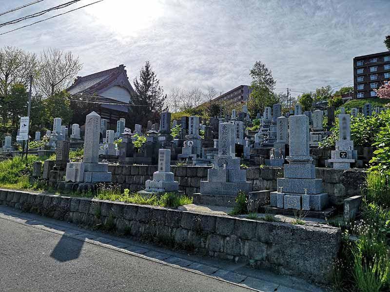 小樽市営 桜墓地_14304