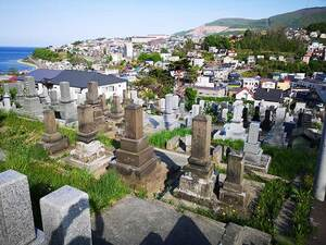 小樽市営 桜墓地_14306