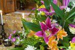 花が供えれている仏壇