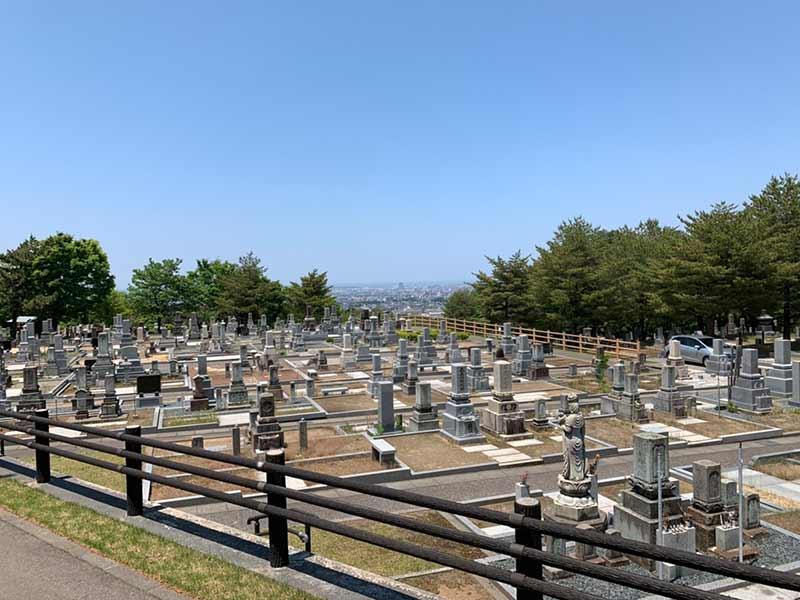 金沢市営 野田山墓地_14491