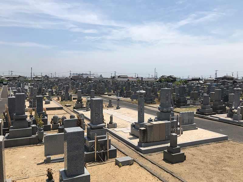 倉敷市営 鶴新田公園墓地_14621