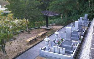 吉備中央町営 下加茂霊園 休憩所