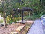 吉備中央町営 下加茂霊園 ベンチ