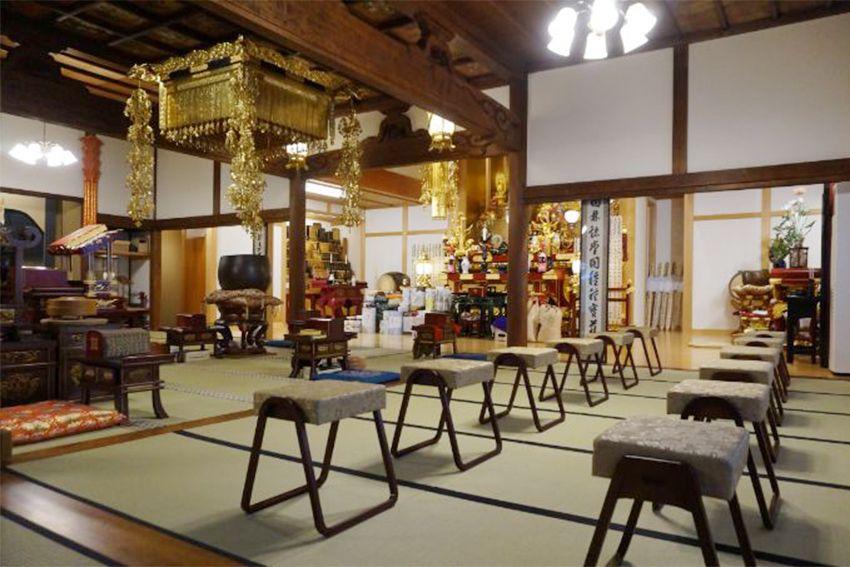 恵光メモリアル新宿浄苑 瑞光寺の本堂