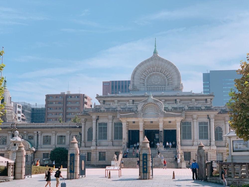 築地本願寺の外観