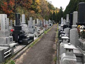 夕張市営 末広墓地_15011