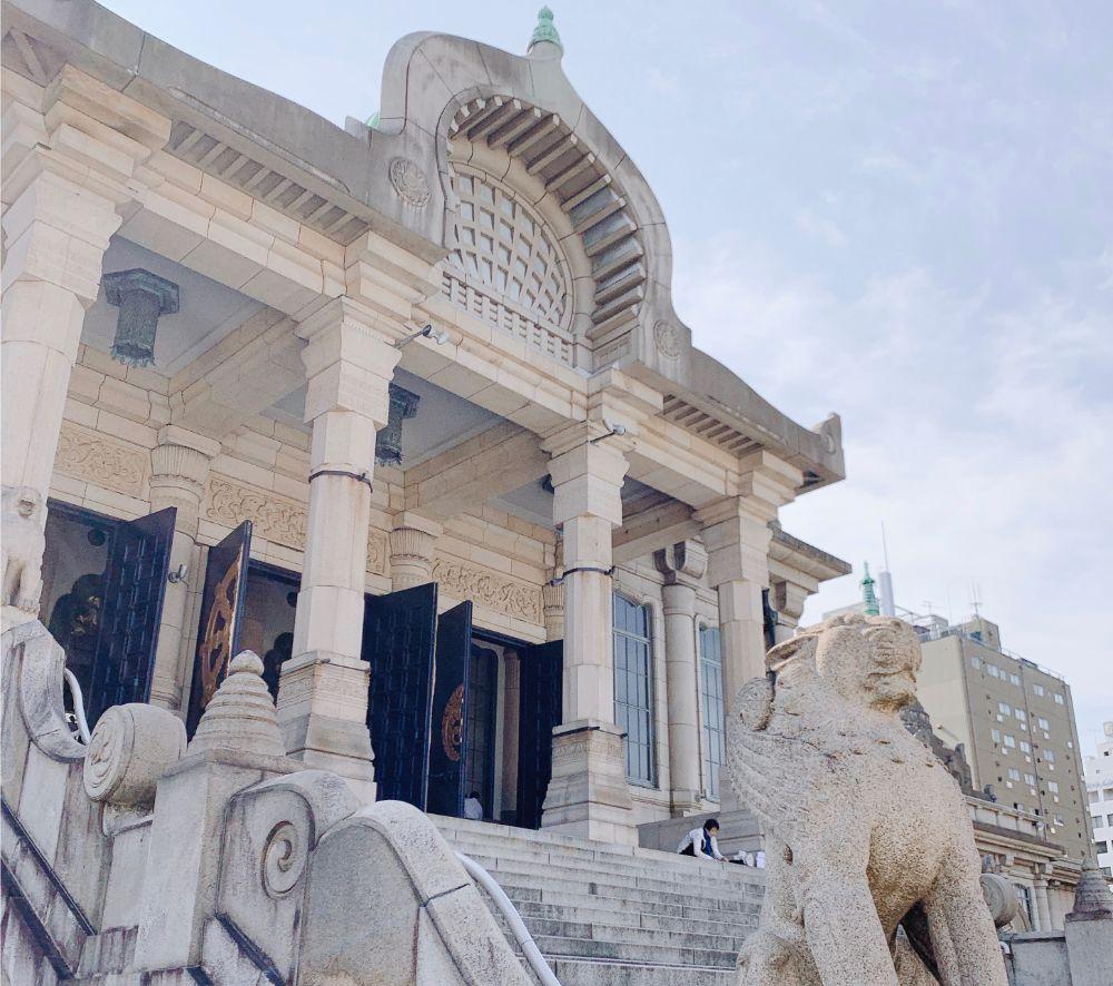 築地本願寺の入り口