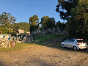 京都市営 地蔵山墓地の駐車場