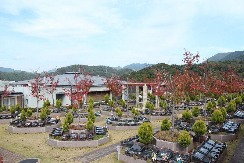 北摂・池田メモリアルパークの園内風景①