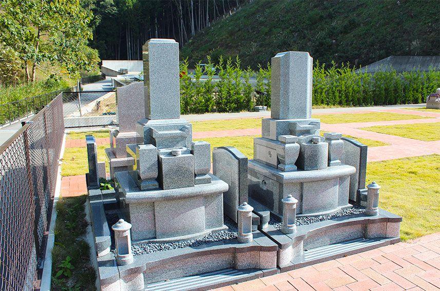 北摂池田メモリアルパークの一般墓「イーストガーデン」