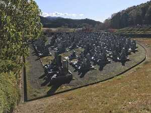 長浜市営 松の岩公園墓地_16651