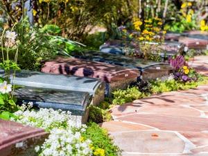 妙成寺 蒲田庭苑の墓地風景