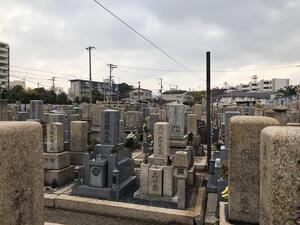 東大阪市営 長瀬墓地_18227
