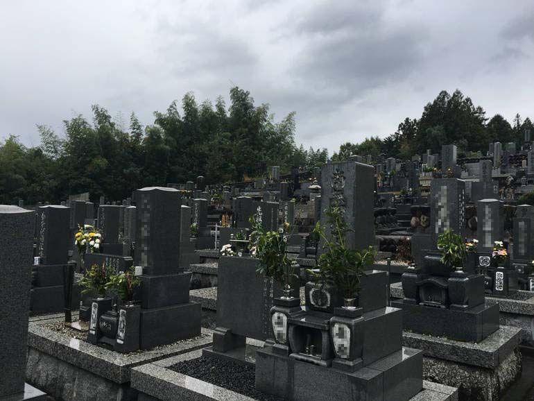 美濃市営 乙女坂墓地_1853