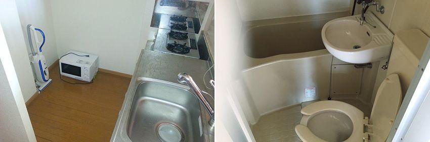 遺品整理作業後の水回りの清掃
