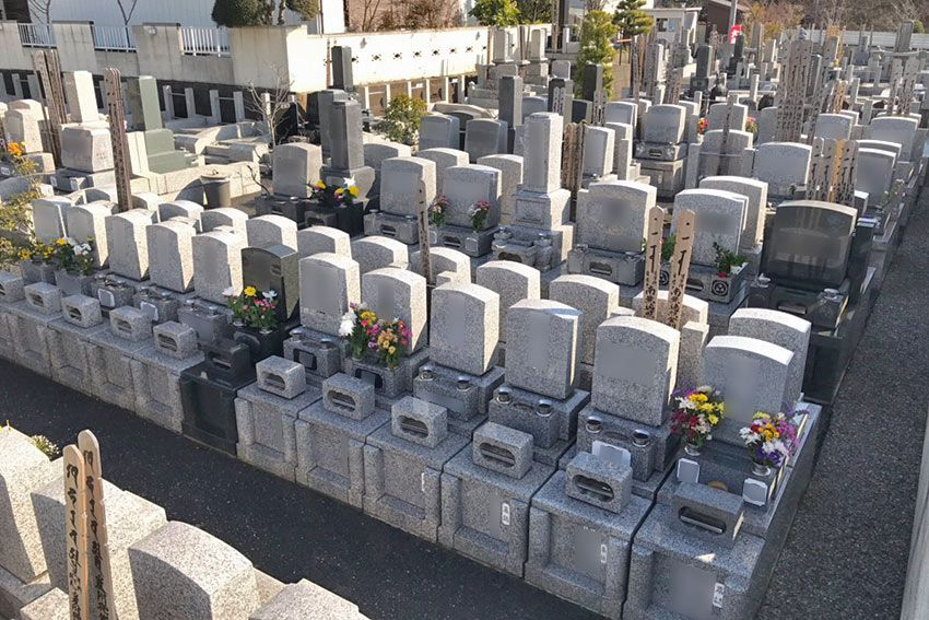 メモリーガーデン彩の杜の30万円台で作ることができる連結墓