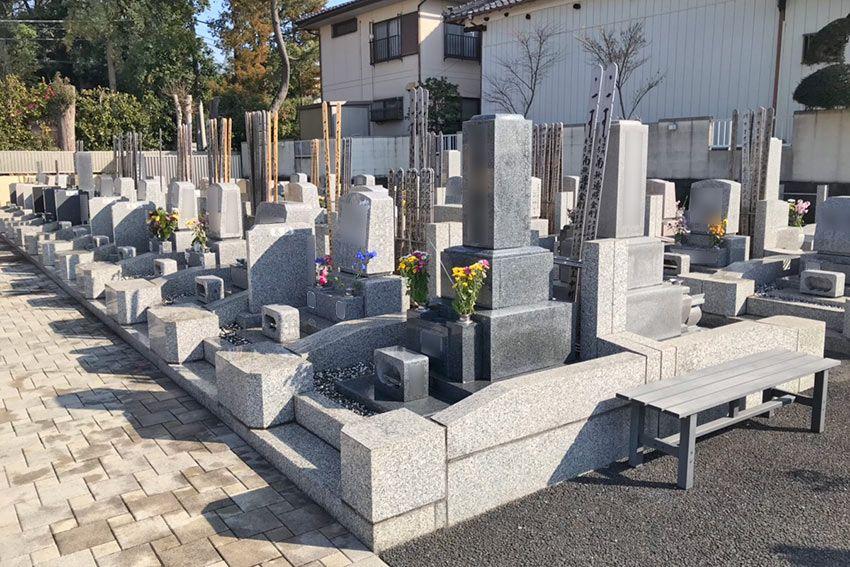 メモリーガーデン彩の杜霊園の区画面積の広い墓域