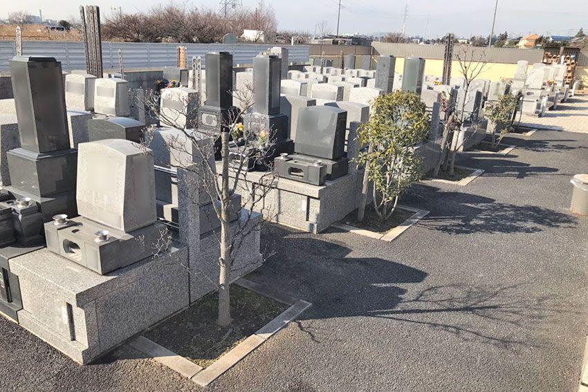 メモリーガーデン彩の杜霊園の墓域