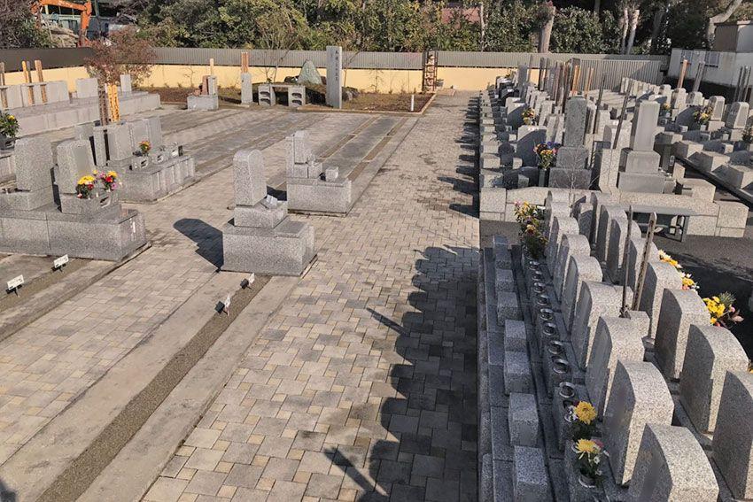 メモリーガーデン彩の杜霊園のまだ空きがある区画