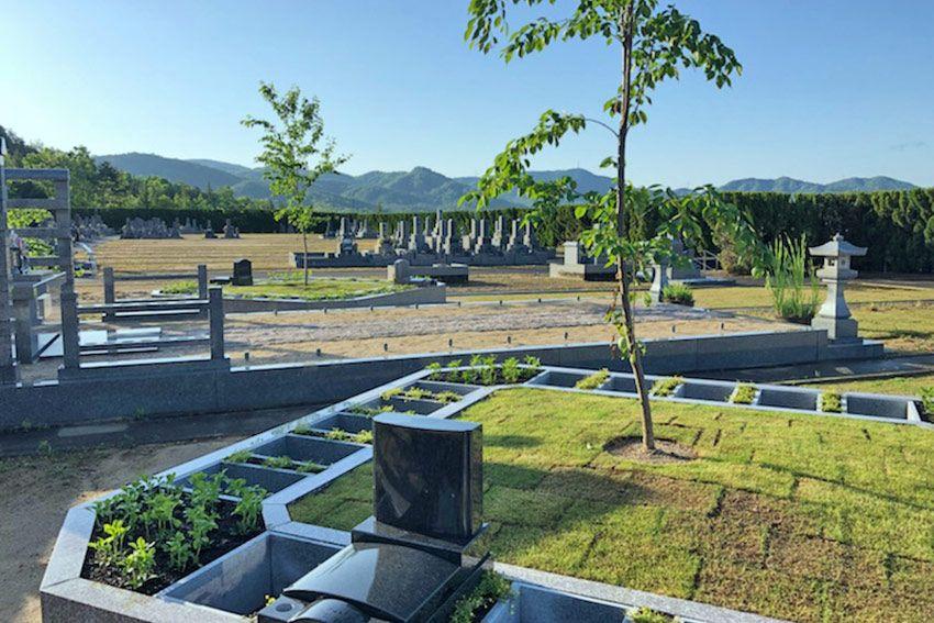 森の国墓苑 桜花ガーデンの風景