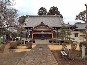 厳かな雰囲気の東陽寺