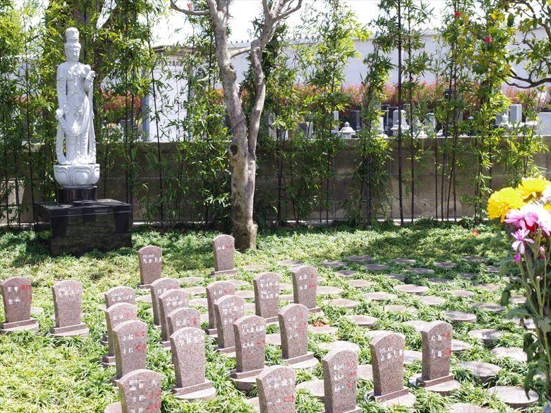 鶴ヶ島霊苑・開栄寺 永代供養墓・樹木葬_20869