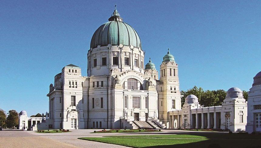 ウィーン中央霊園外観