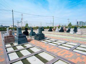 駅前霊園美南の一般墓区画イメージ