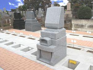 ひばりが丘浄苑の墓石