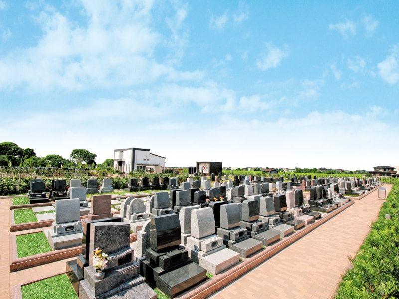 吉川美南霊園 人気のテラス区画