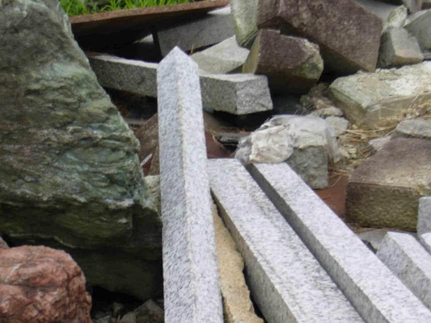 さまざまな石