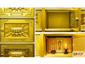泰聖寺釈迦納骨堂のBタイプ区画
