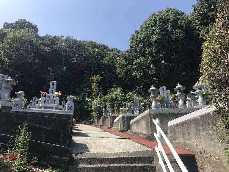 大竹市営 鞍掛墓地_4645