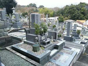 松山市営 太山寺墓地_5167