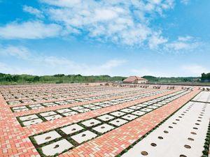 メモリアルパーク緑の丘の平坦な一般墓所
