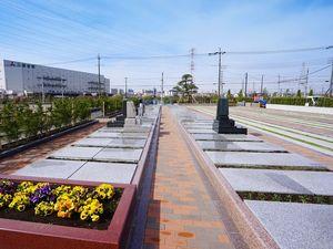 駅前霊園美南の区画イメージ