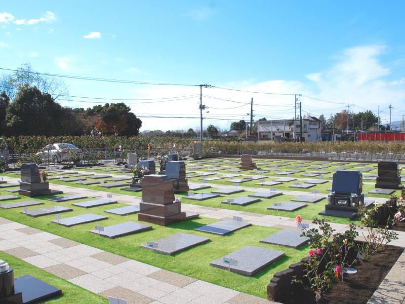 メモリアルパーク大和墓苑 ふれあいの郷の一般墓区画イメージ