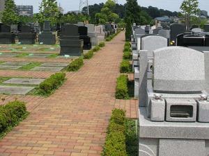 公園墓地 彩の恵 平坦な参道
