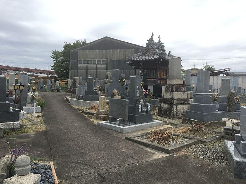 羽島市営 曲利区共同墓地_5810